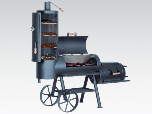 Riesen Barbeque Holzkohle Grill-Smoker