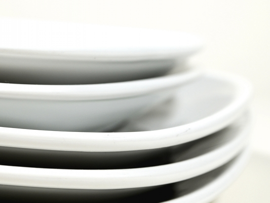 Buffetplatte Porzellan groß