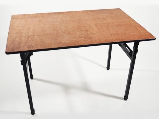 Tisch Naturholz 120 x 80 cm klappbar