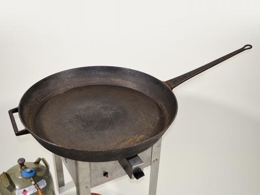 Paella-Pfanne aus Guß Ø 80 cm