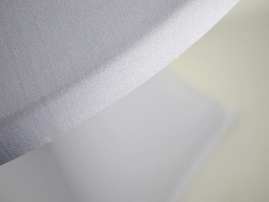 KOMBIPREIS: Stehtisch klik-klak natur inklusive Stretchhusse weiß
