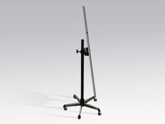 Standspiegel, 50 x 180 cm rollbar