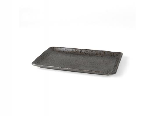 """Porzellan Platte 27 x 16 cm """"Carbon"""""""