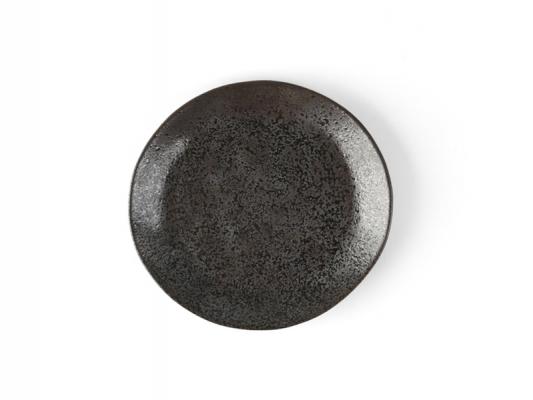"""Porzellan Teller flach Ø 21 cm """"Carbon"""""""