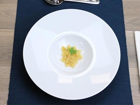 Gourmetteller tief 22 cm Style