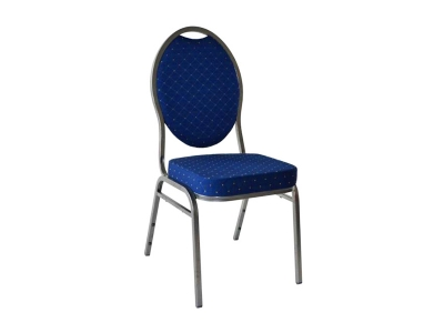 Polsterstuhl blau