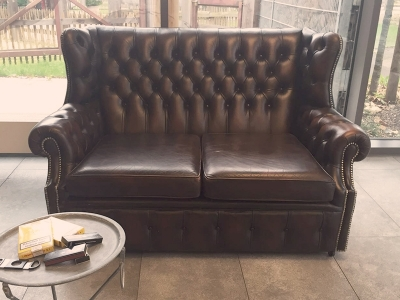 Original Chesterfield Couch