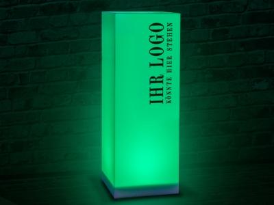 LED Licht-Säule mit Branding