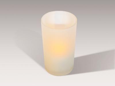 Windlicht Milchglas