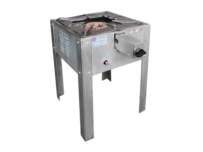 Gas-Hockerkocher für Paella-Pfanne