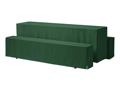 Biertisch Husse 220 x 50 cm grün