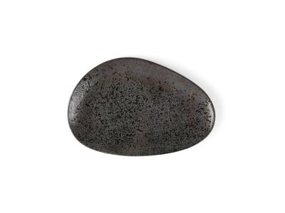 """Porzellan Platte oval 27 cm """"Carbon"""""""